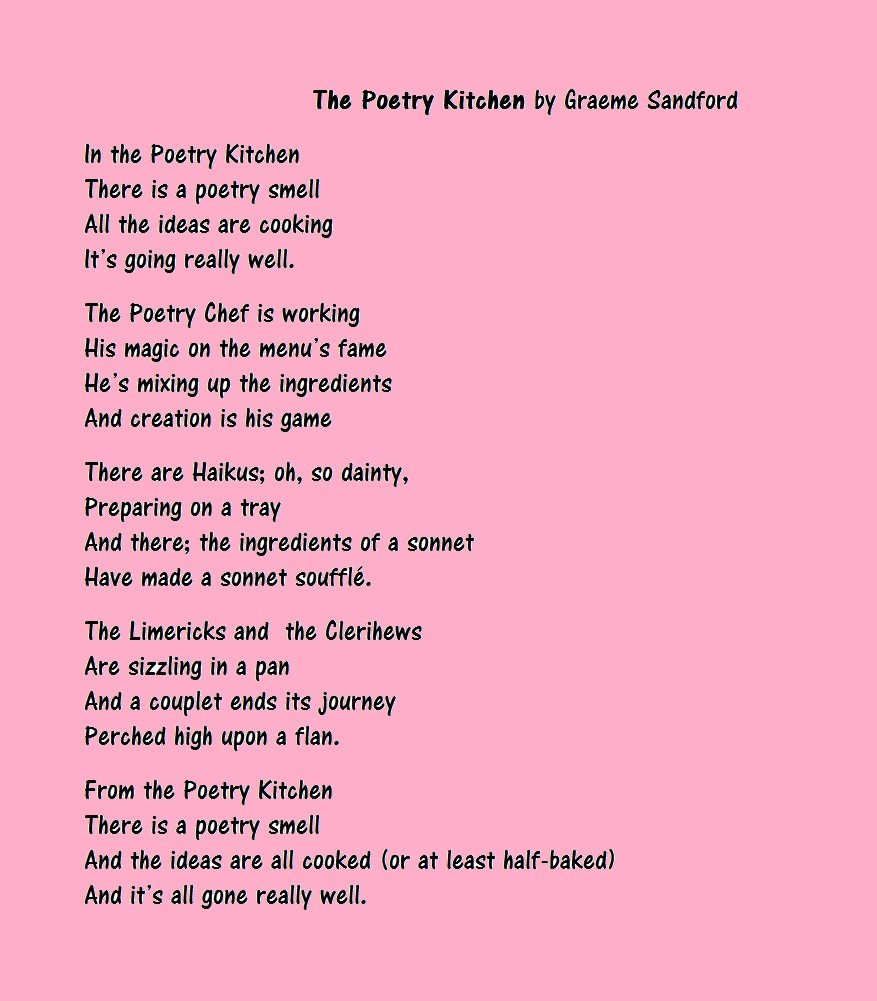 poets in the kitchen essay