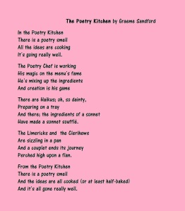 GRS Poem Picture - The Poetry Kitchen