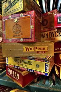 Vintage Cigar Boxes From MuddyRiverTown At etsy.com