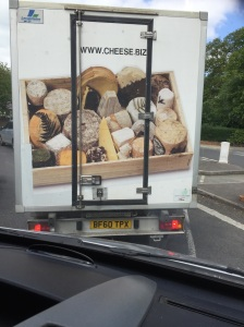 I was stuck in the traffic and suddenly felt all peckish.