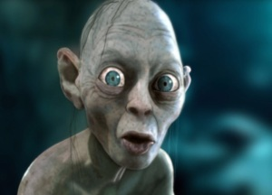 Gollum - a Tolkien creation.