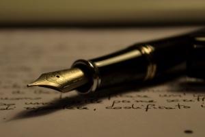 A pen